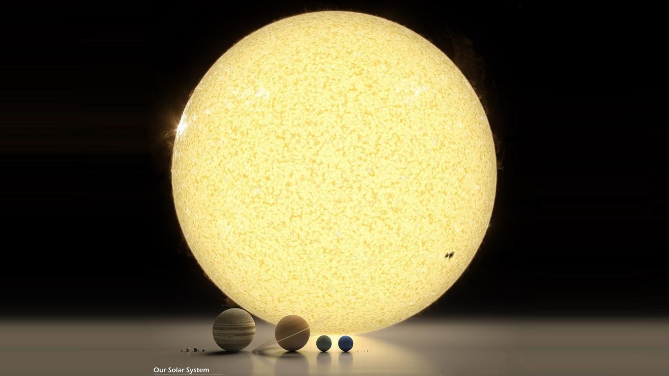 Картинки размер планет