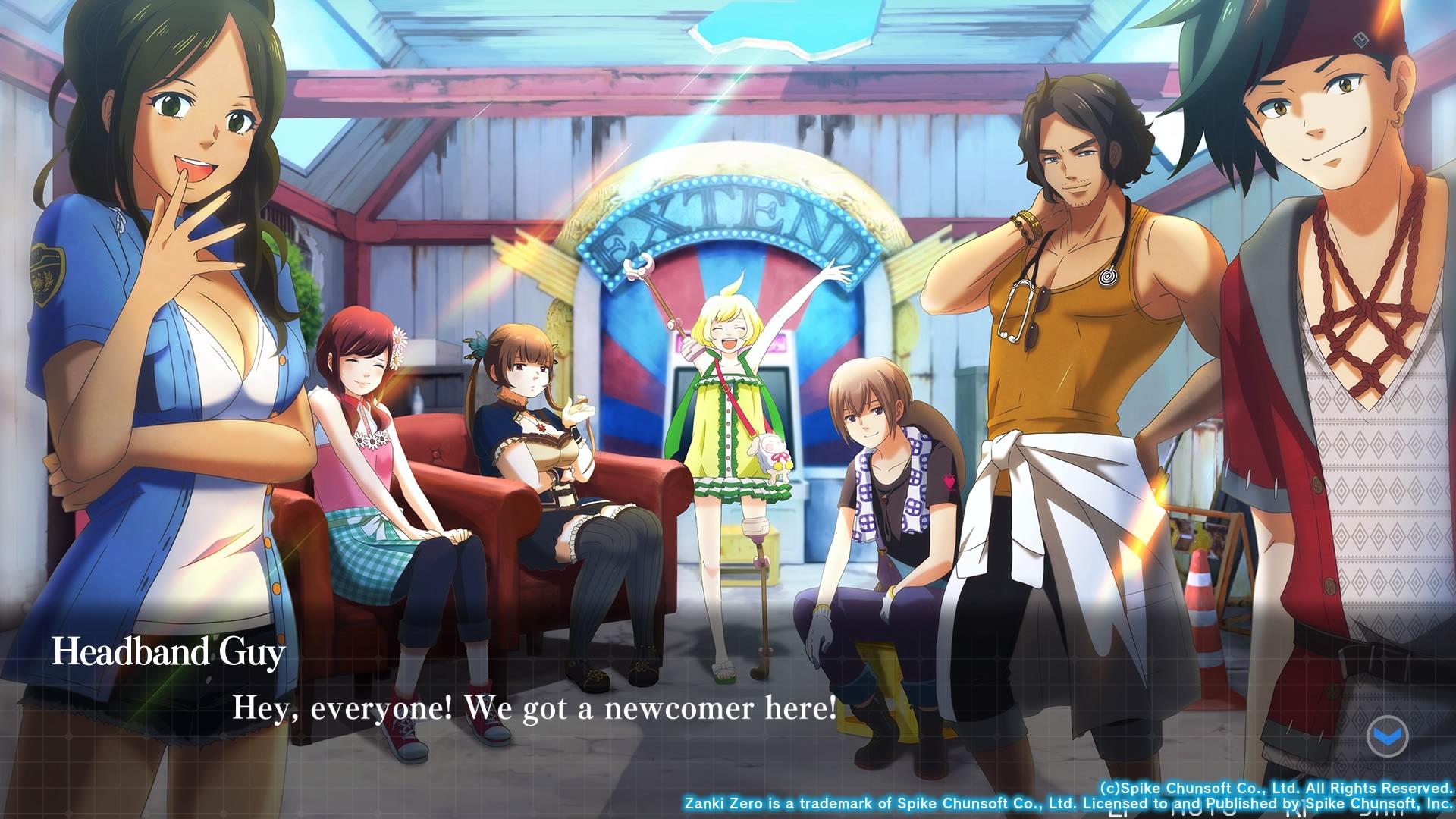 Остаться в живых: Обзор Zanki Zero: Last Beginning