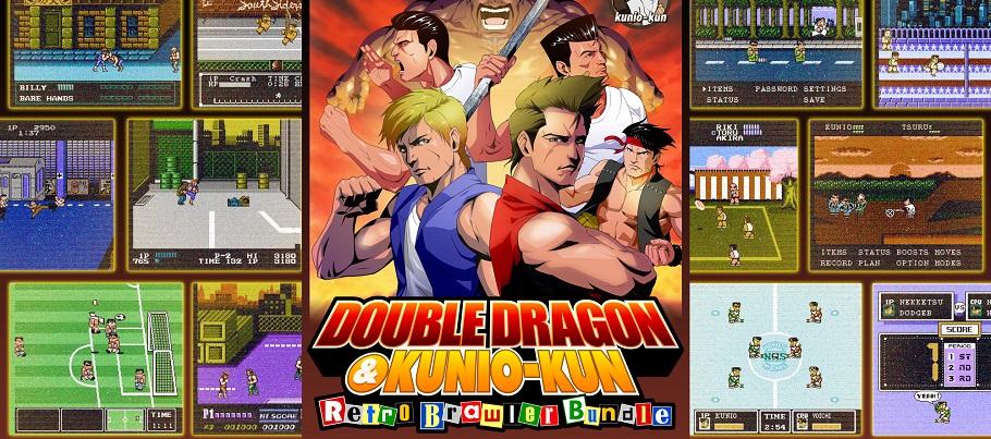 Opublikovan Trejler Sbornika Double Dragon Kunio Kun Retro Brawler Bundle