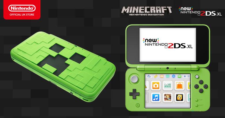Minecraft для New Nintendo 3DS получил своё последнее