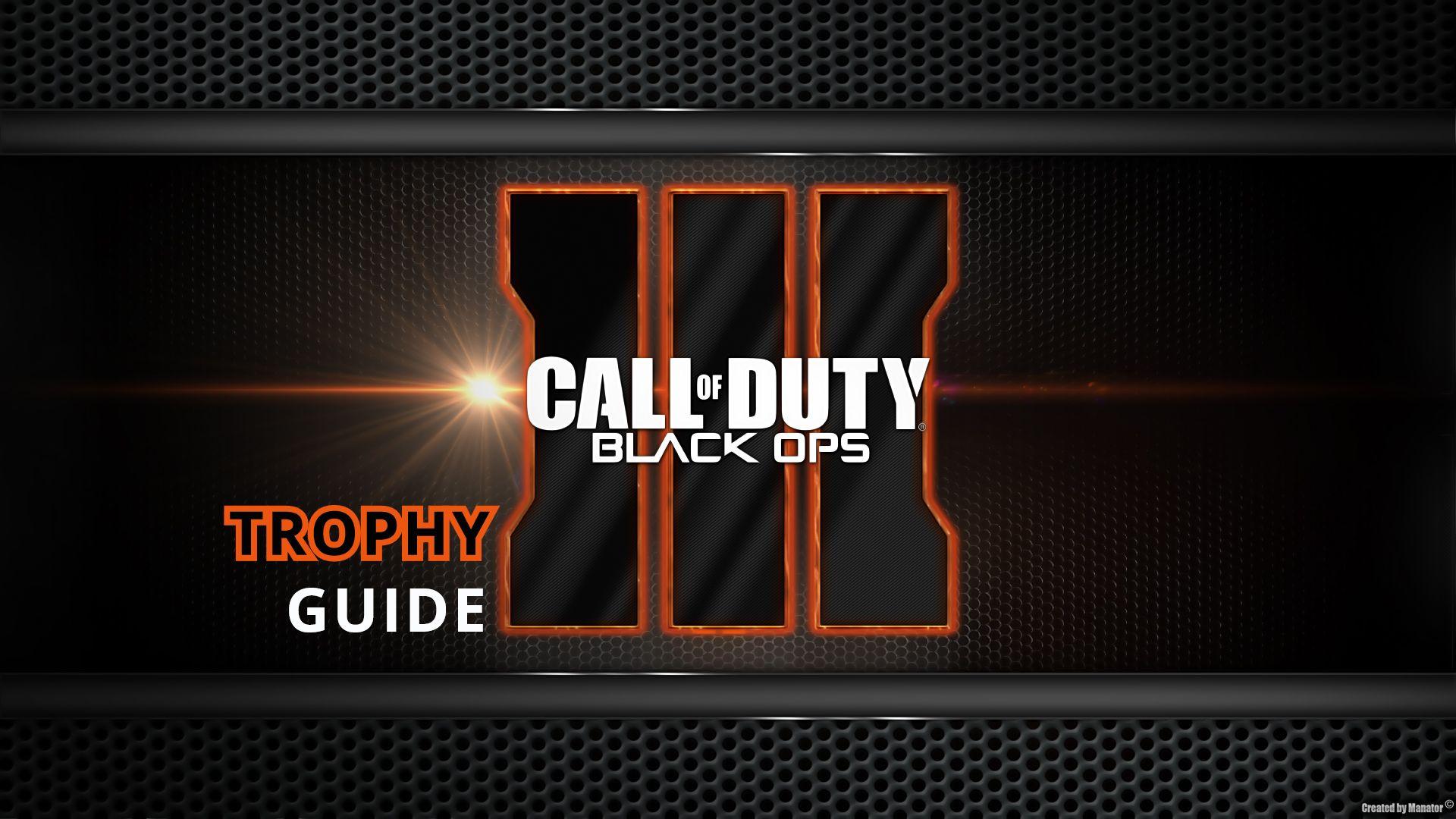 PlayStation 4 ПутеводитеРь Call of Duty Black Ops III