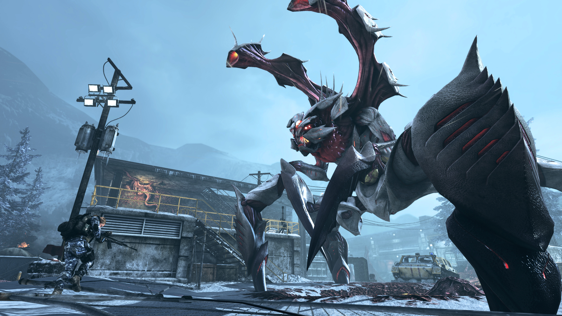 Рекламный ролик первого дополнения «Onslaught» для Call of Duty