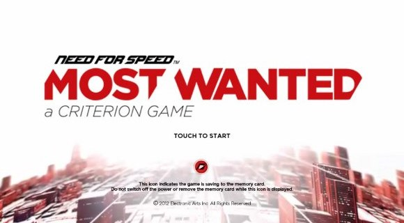 Need for Speed: Most Wanted [PS Vita]