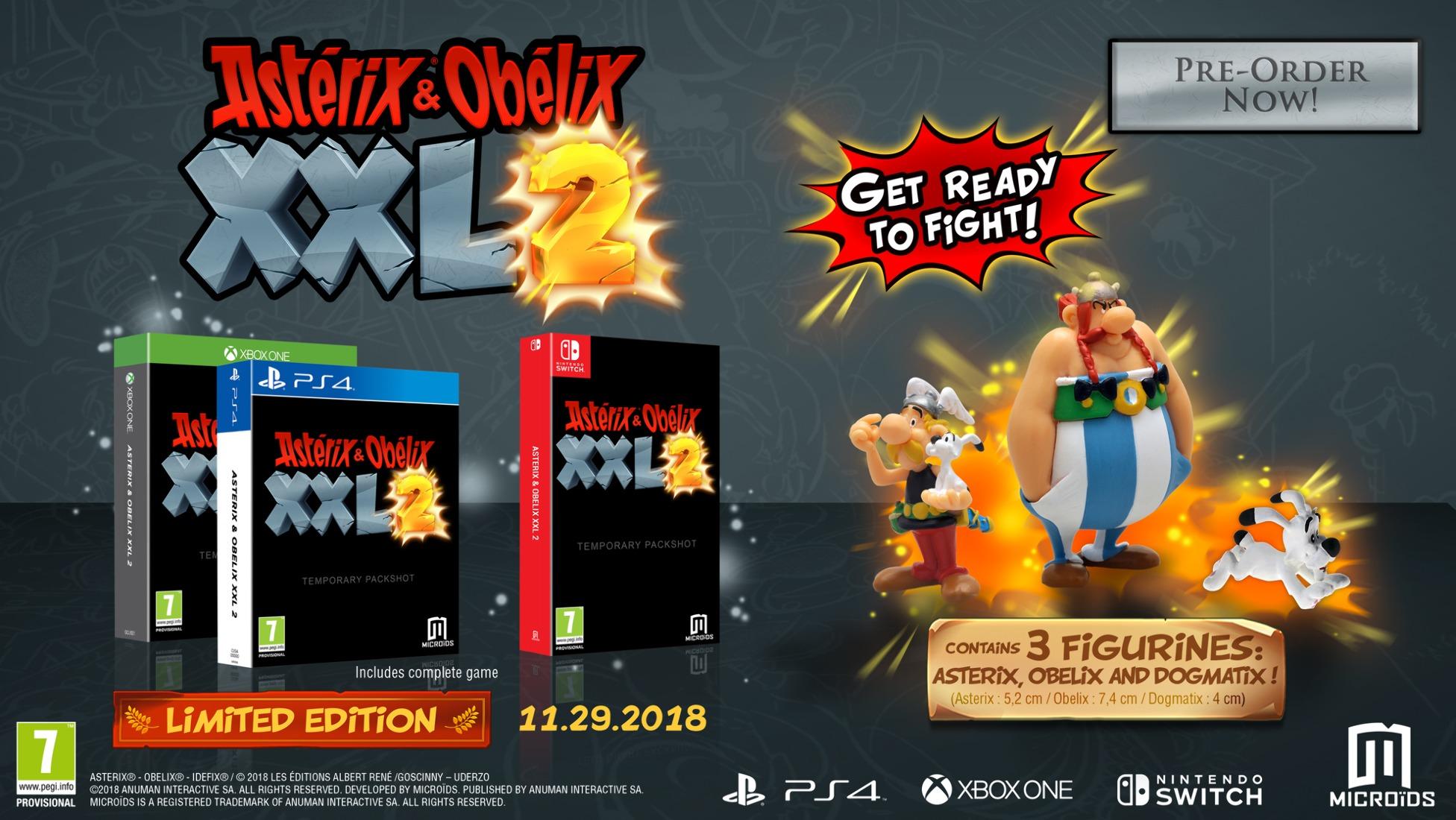Asterix & Obelix XXL 3 по обещаниям разработчиков будет приключенческой  игрой с захватывающими сражениями, исследованиями, головоломками и  возможностью ...