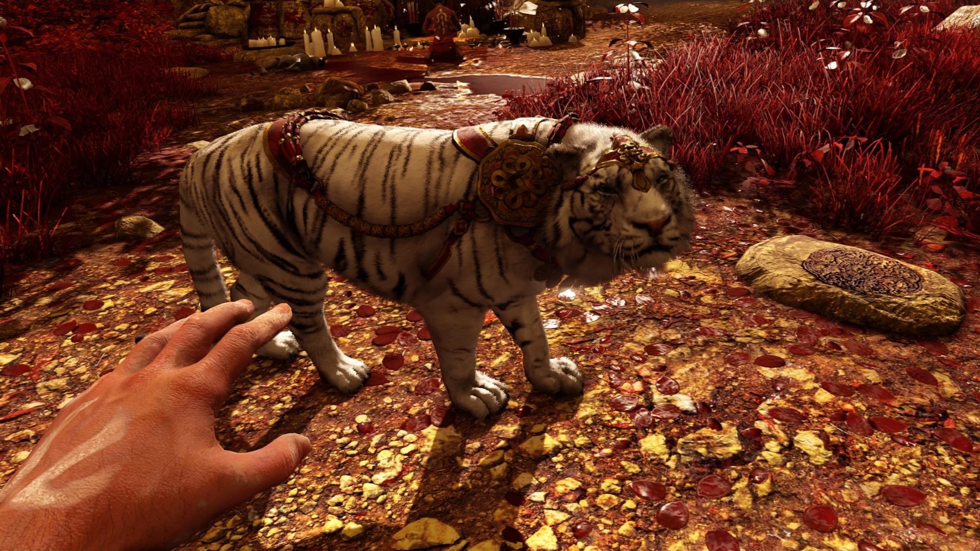 Картинки тигров из игр