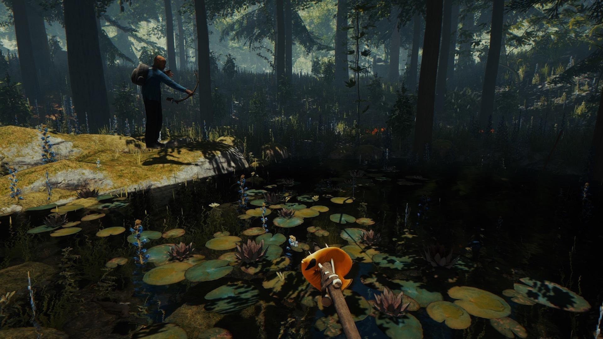 Лес из игры картинки